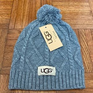 UGG gray hat winter beanie NWT